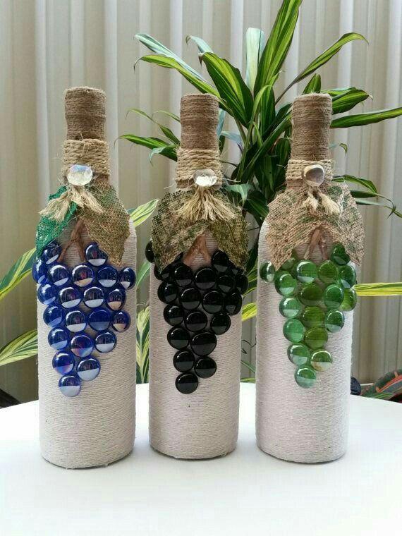 Pin by carmen cancela on creativo pinterest bottle wine and craft cork ideas wine bottle crafts wine bottle art glass craft vase diy projects advent gift ideas mason jar wine solutioingenieria Image collections