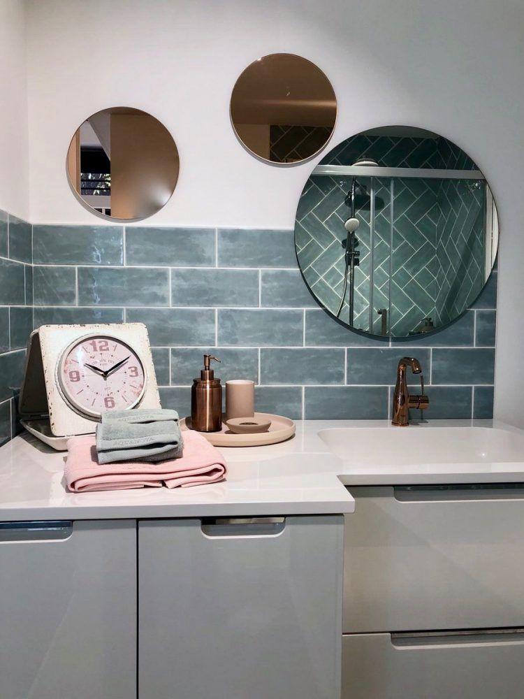 Envie de salle de bain - Blog Déco - salle de bain bleu gris