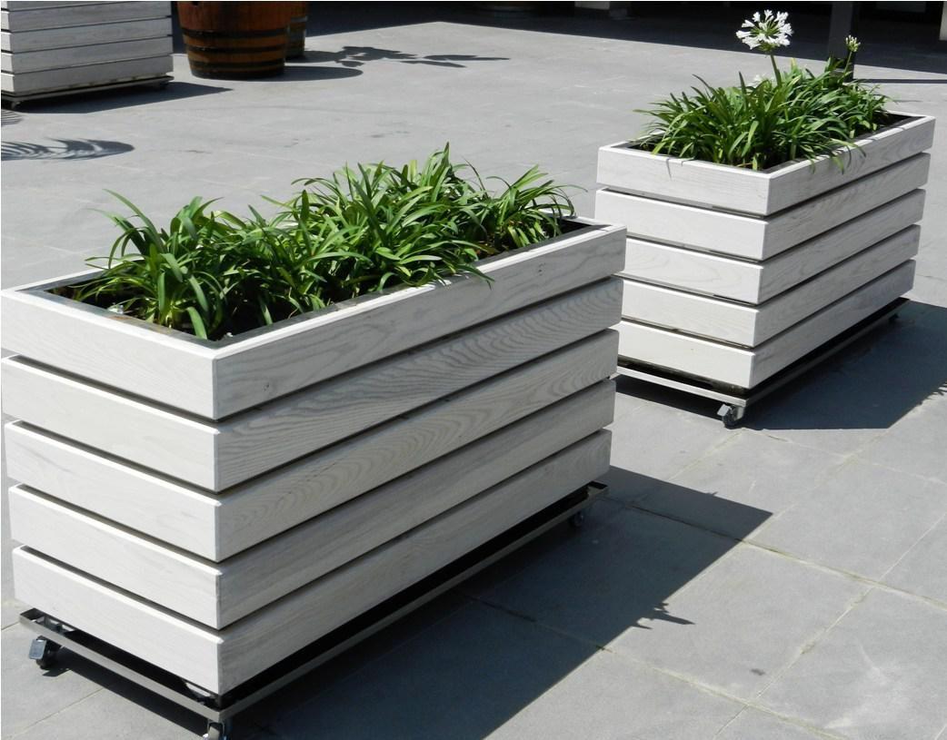 Modern Wooden Planters   Inspiration i!i   Pinterest ...
