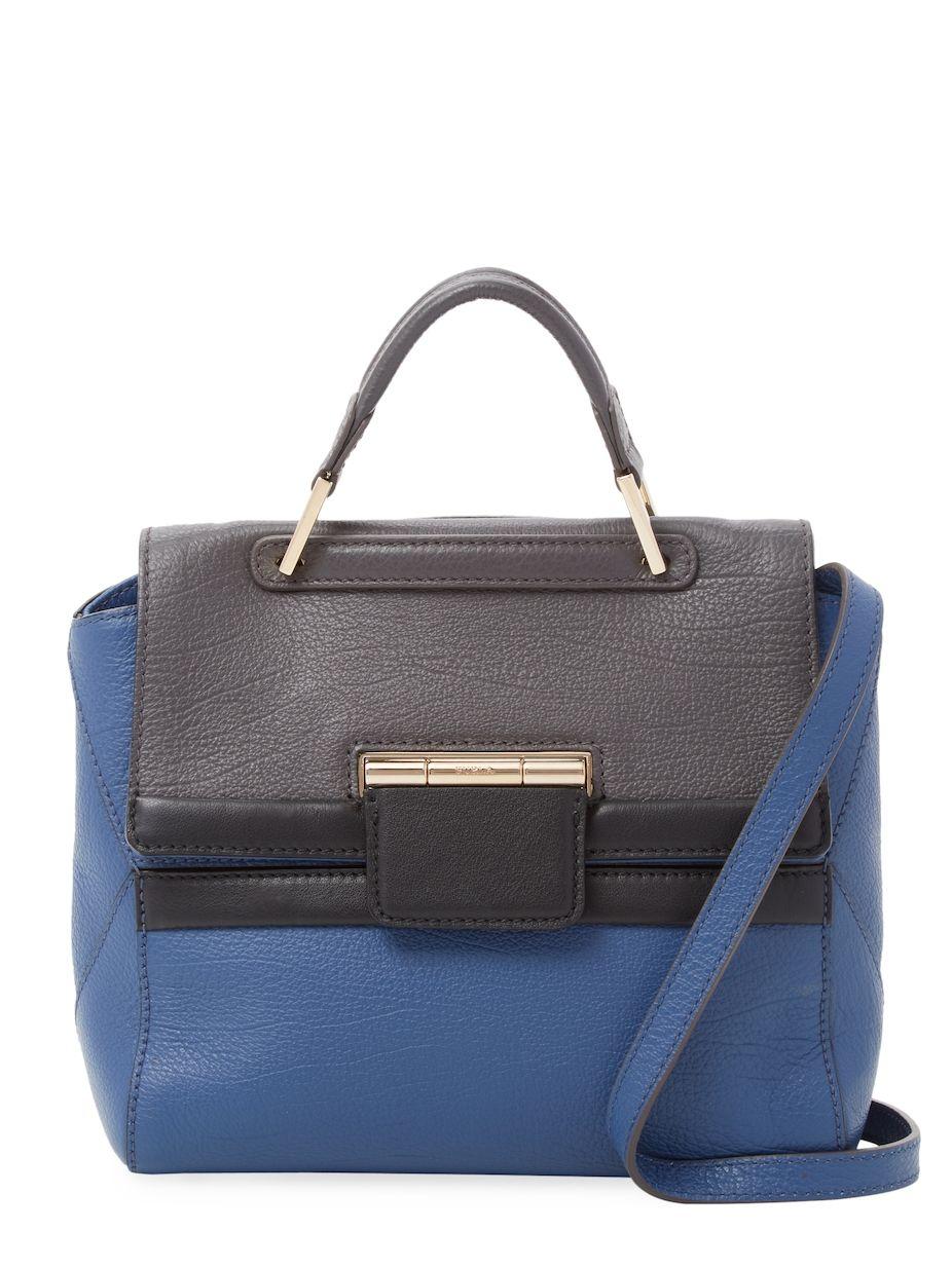 8bf6e5e4a2d55 Furla Artesia Small Leather Top Handle Satchel