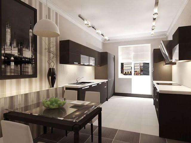 small galley kitchen design ideas   Ideas for Kitchen   Pinterest