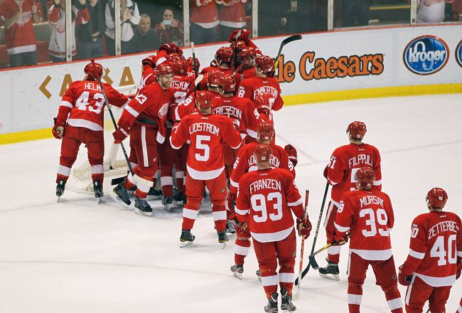 Go to a Red Wings game at the Joe Louis Arena Detroit