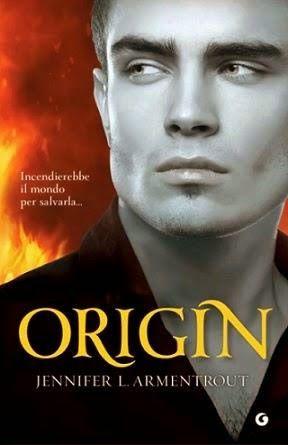 """""""Origin"""" 4^ capitolo della serie """"Lux"""" di Jennifer L Armentrout"""