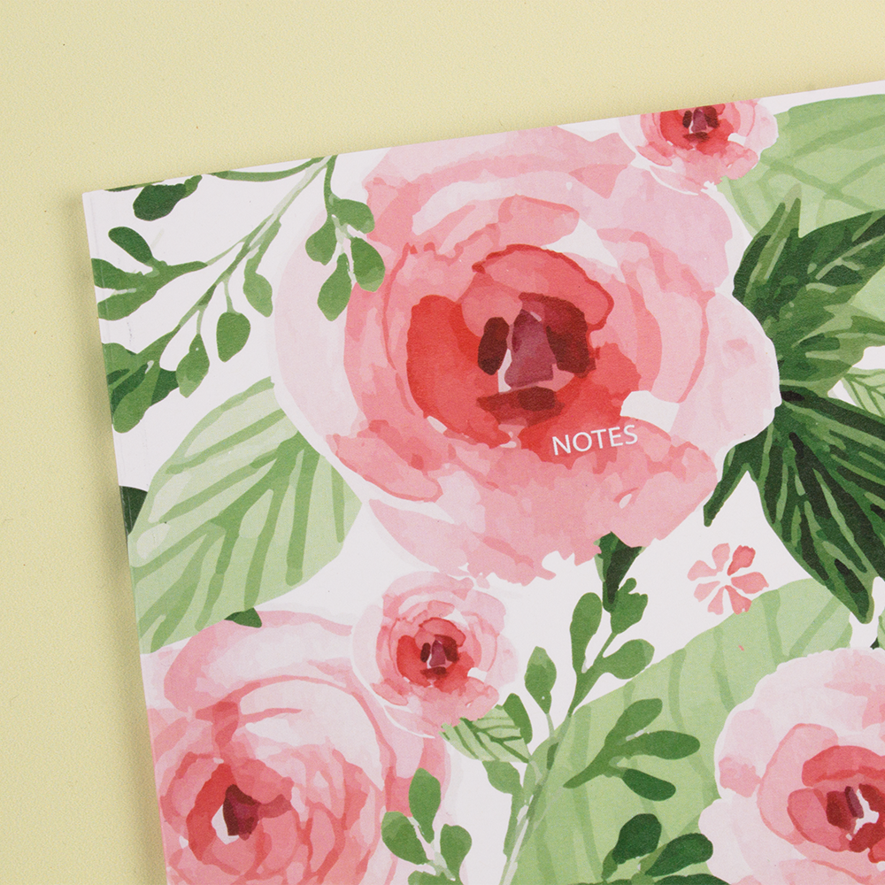 Roses Are Red Flowers Are Pink Just Look At These Notebooks What