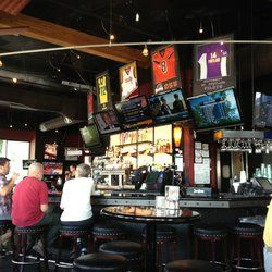 Home On Deck Sports Bar And Grill Sports Bar Bar Decor Restaurant Lighting Design