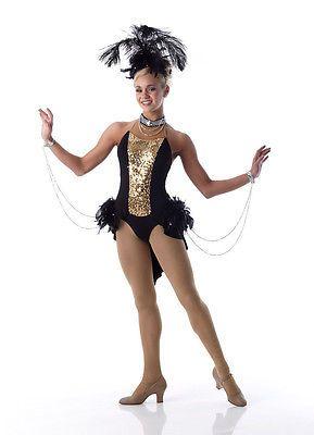 4ab24f6eecf0 Viva Las Vegas Showgirl Jazz Tap Dance Costume Halloween Child Sizes ...