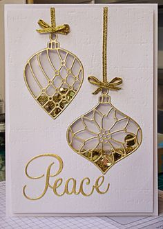 Stampin' Up! Delicate Ornament thinlit | stampin up | Pinterest ...