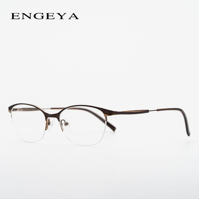 Best Offer $13.51, Buy Fashion Metal Glasses Frame Women Optical ...