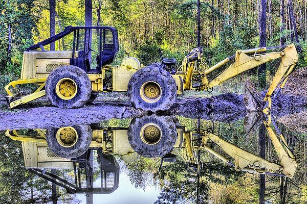 Forestry Work   Alabama in 2019   Logging equipment, Monster