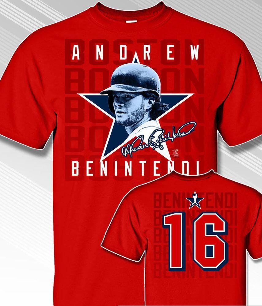 8d90d2957c3 Boston Red Sox ANDREW BENINTENDI  16 MLBPA Star Power Youth Boys Cotton T  Shirt  MLBPA