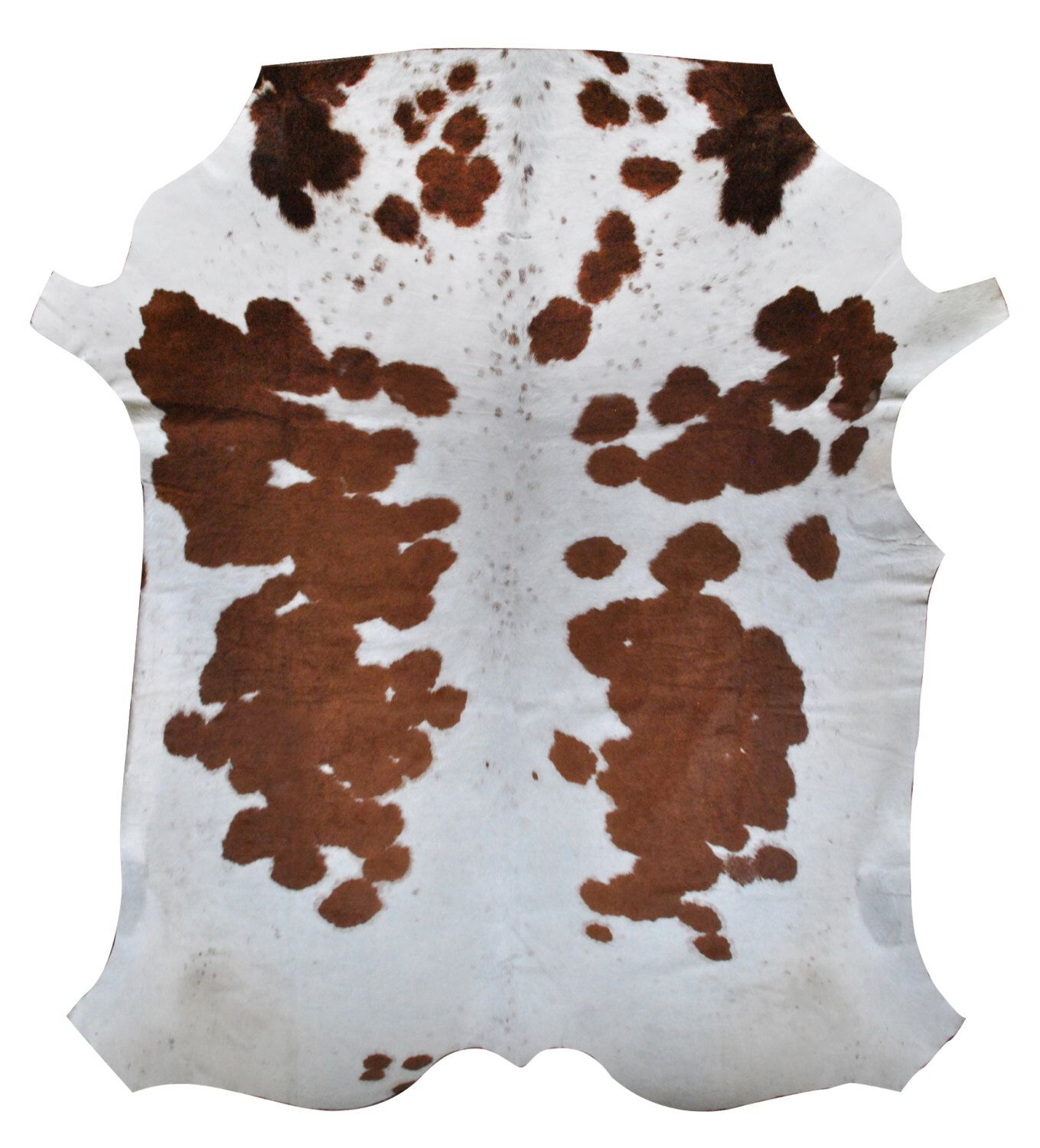 cowhide rug smallmedium brown and white cow hide from africa cow skin animal hide that would make any room more luxurious and stylish