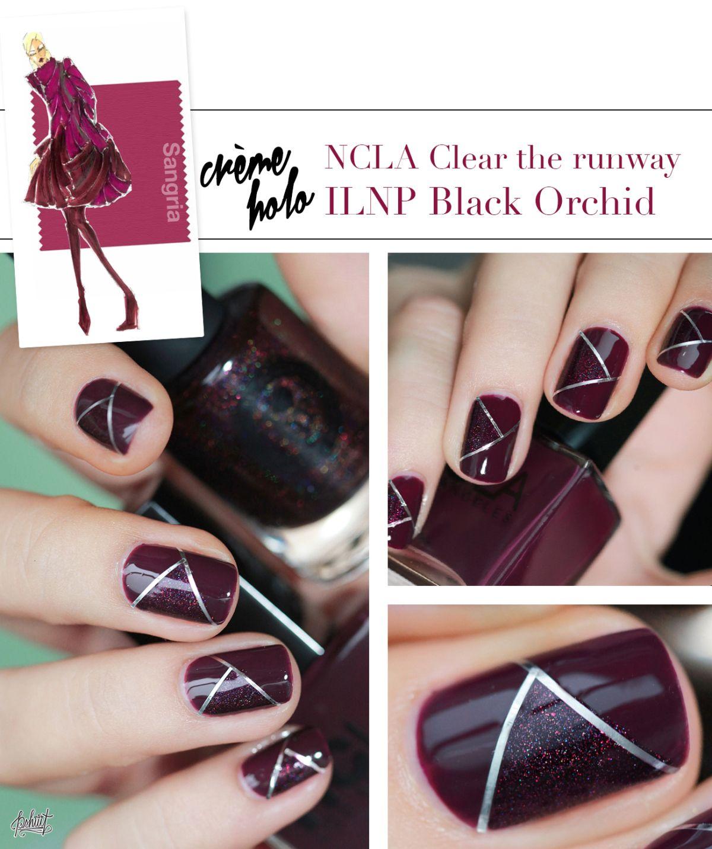 Pantone Color Fashion Report Fall 2014 Sangria Nail art