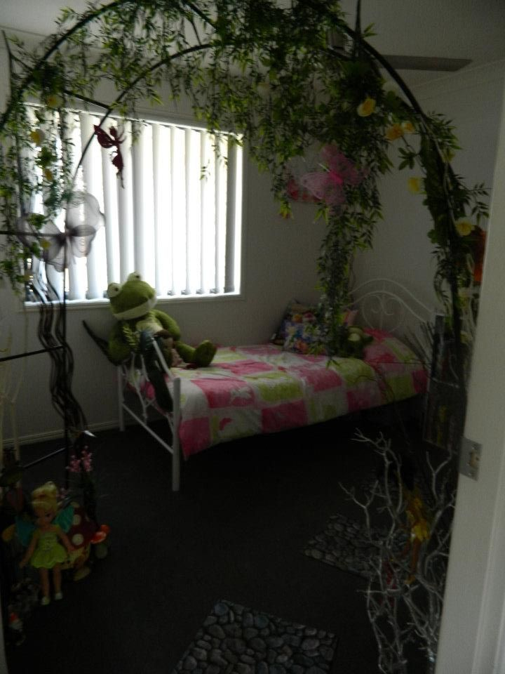 Fairy Themed Bedroom Decorations: My Daughters Tinkerbell Fairy Room