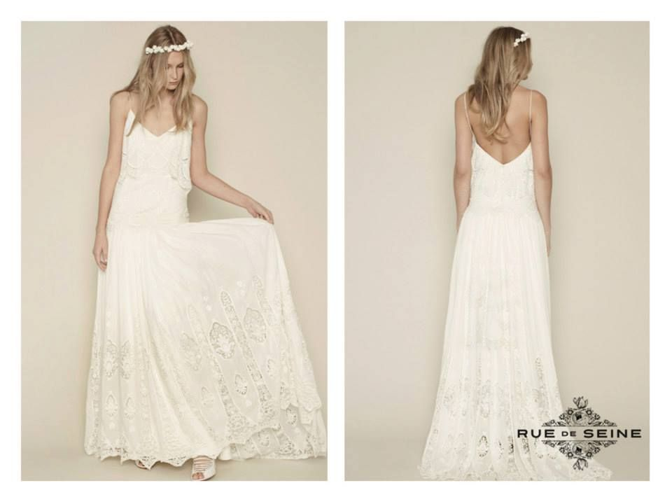 Rue De Seine Collection Eve Dress Wedding Dresses Wedding