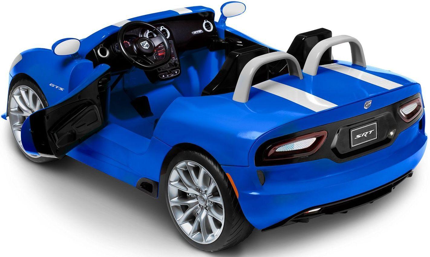 أفضل ثلاث سيارات كهربائية صغيرة Dodge Viper Ride On Toys Srt