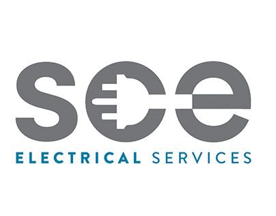 Check out new work on my behance portfolio sce electrical logo logo and branding design for plymouth based electrical company colourmoves