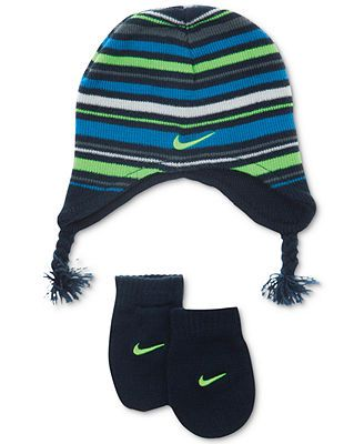 Photo of Nike Baby Set, Toddler Boys or Baby Boys Knit Cap and Mittens & Reviews – All Kids' Accessories – Kids – Macy's
