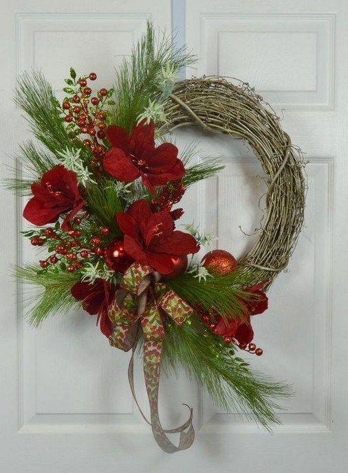 Cool diy christmas wreath decoration ideas 00 00009 ...