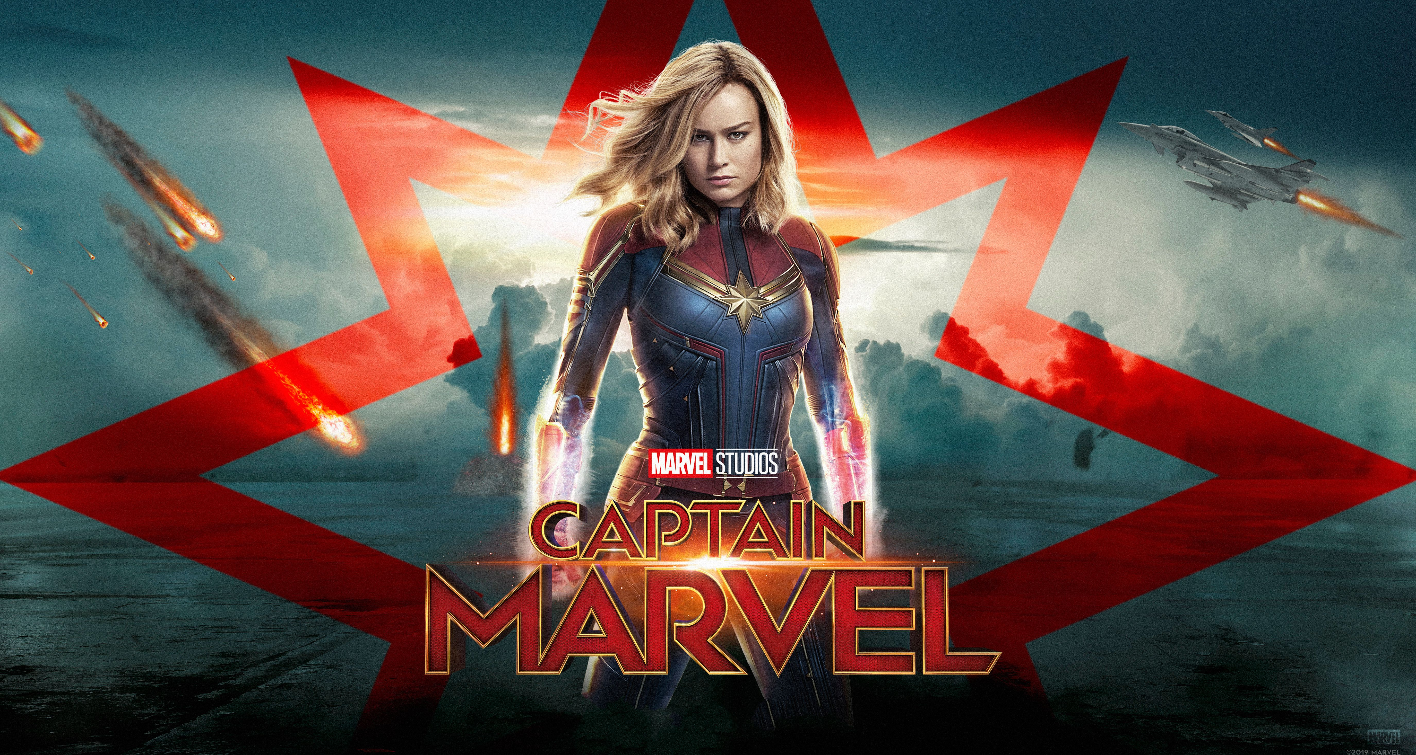 Captain Marvel 4k Poster Movies Wallpapers Hd Wallpapers Carol Danvers Wallpapers Captain Marvel Wallpapers Captain Marvel 4k Captain Marvel Marvel Movies