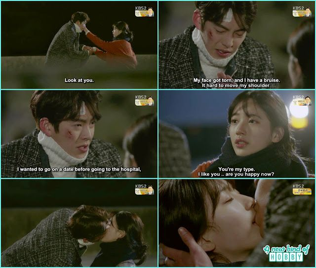 Bae Suzay And Kim Woo Bin Confession Kiss Uncontrollably Fond