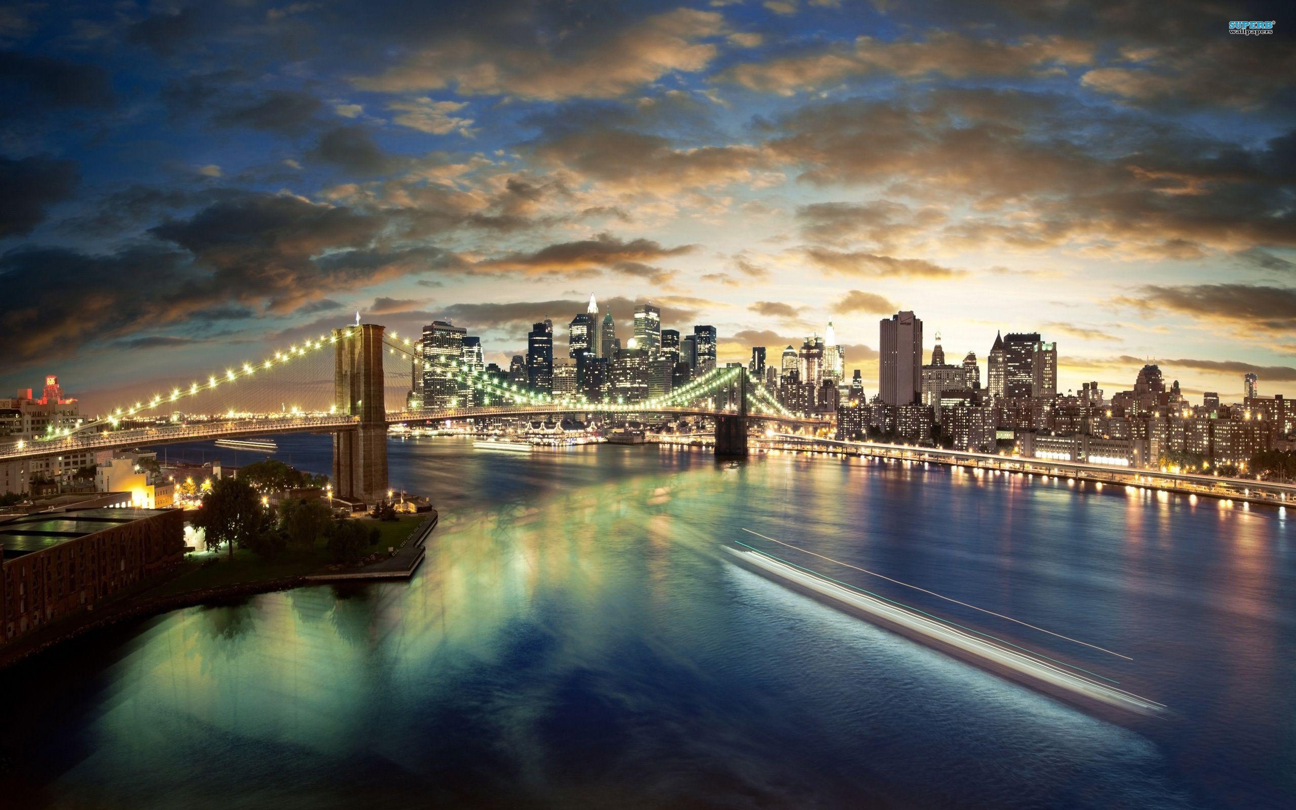 Bridge Cool Brooklyn Wallpaper