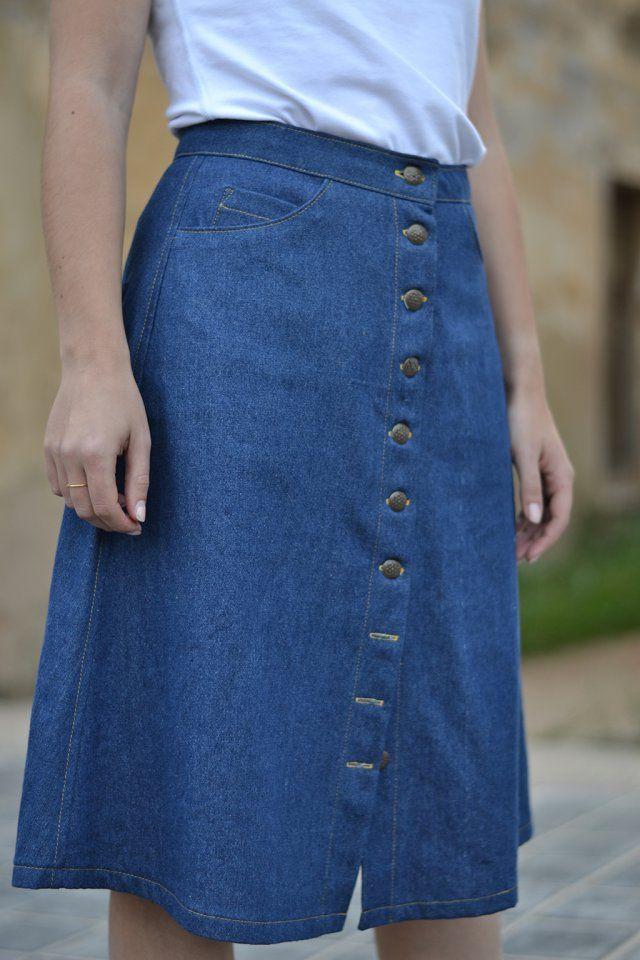 coudre une jupe les plus beaux patrons de couture patron jupe jupes en jean et coudre. Black Bedroom Furniture Sets. Home Design Ideas