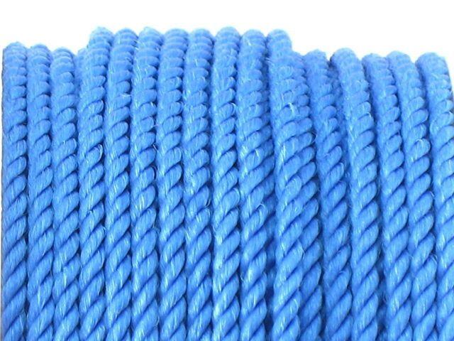 Sznurek Skręcany Ciemny Niebieski 2.2mm Szpulka 25m 11,05 zł - Półfabrykaty do biżuterii \ Bazy biżuteryjne \ Sznurki \ Polipropylenowe Decoupage \ Elementy do zdobienia \ Sznurki \ Polipropylenowe - MarMon.com.pl