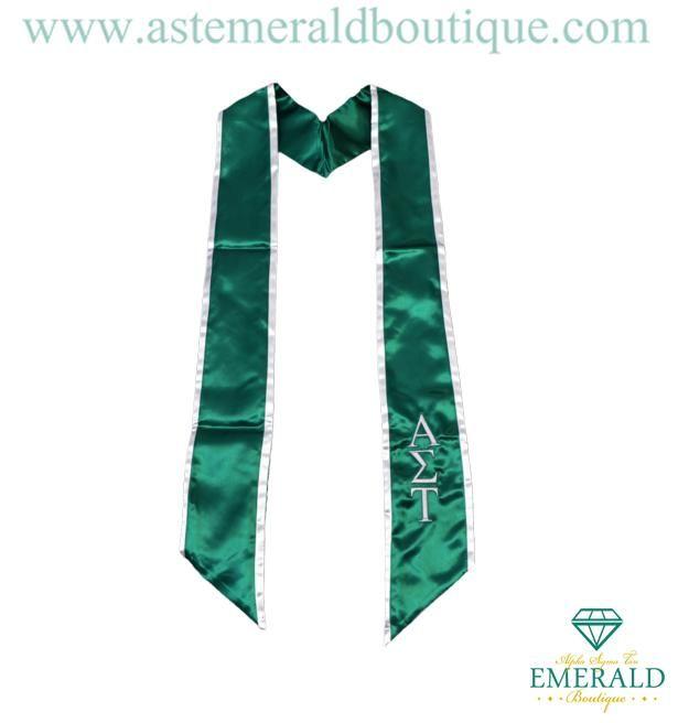 AST Emerald Boutique Gifts Emerald Graduation Stole