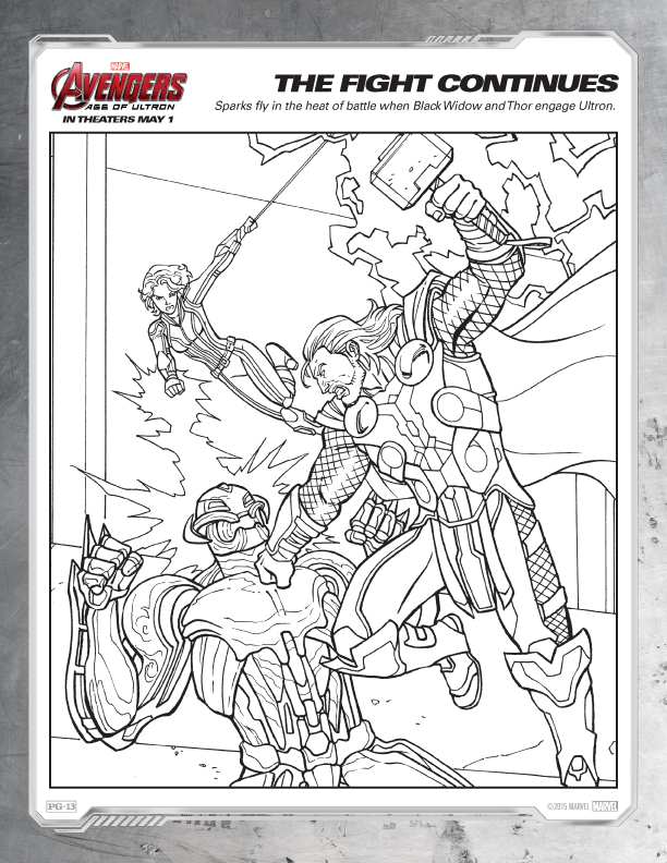 Avengers Coloring Pages | Comic Book Coloring Pages | Pinterest ...
