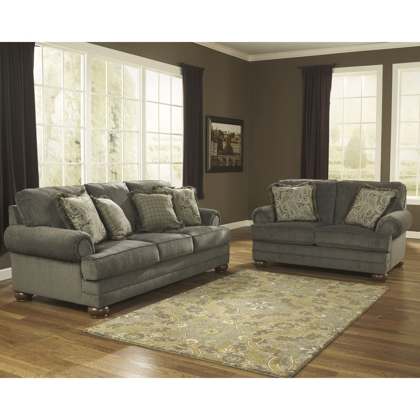 Signature Design by Ashley 7400538 Parcal Estates Sofa | Big Move ...