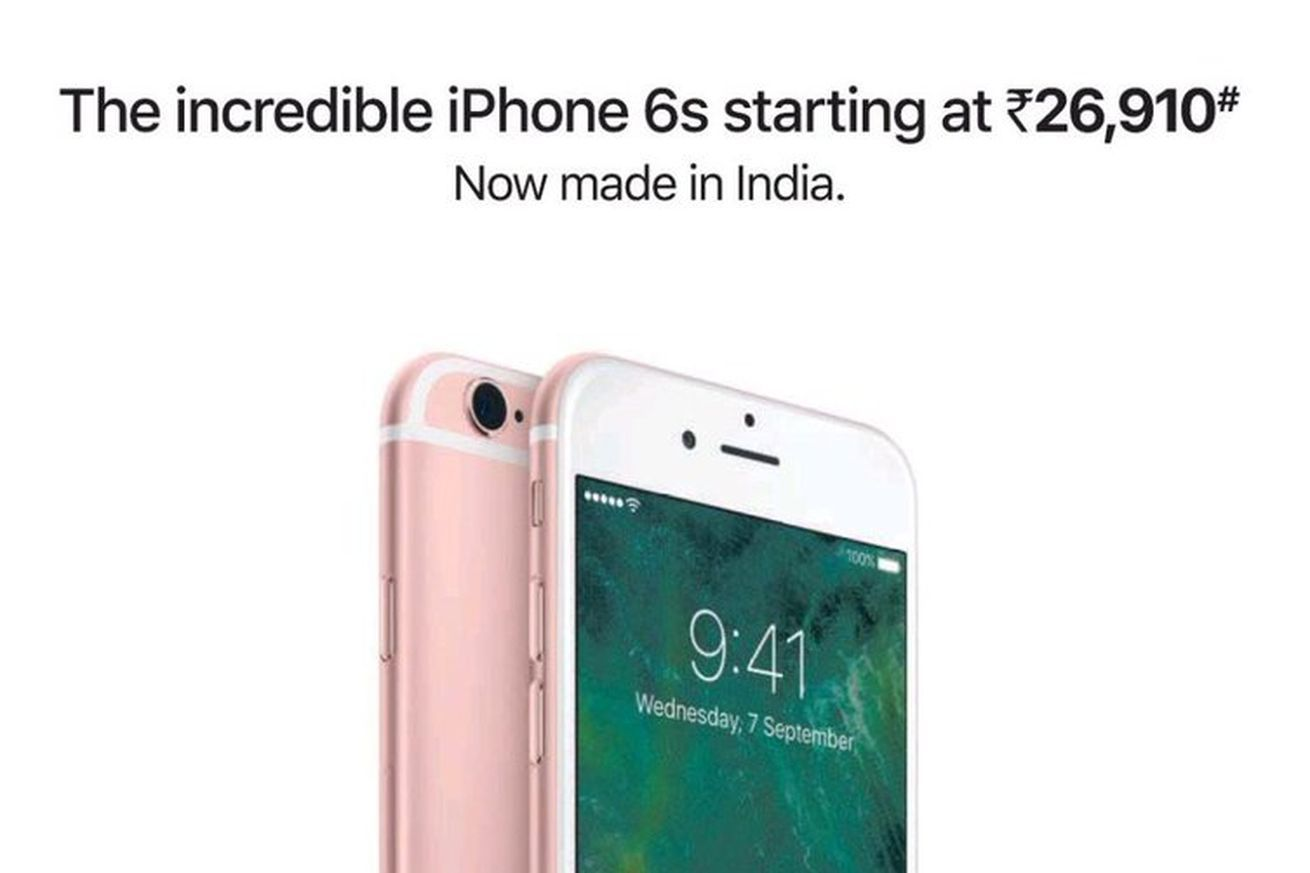 Apple Keeps Iphone 6s Going With Made In India Campaign Iphone