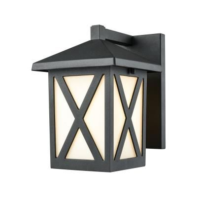 Elk lighting lawton one light outdoor wall sconce