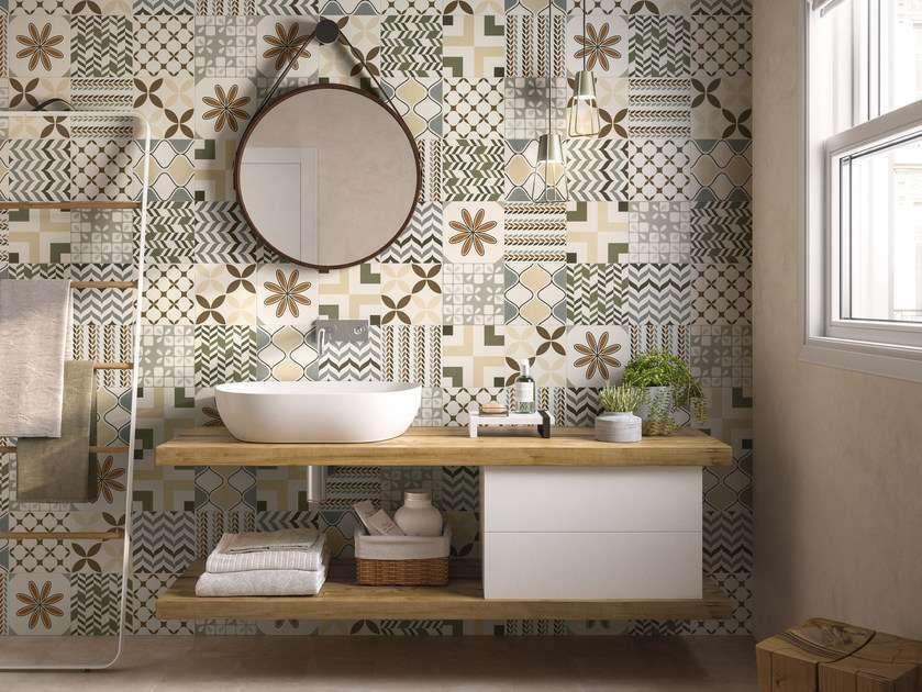 Arredare il bagno con le cementine bagni bagno