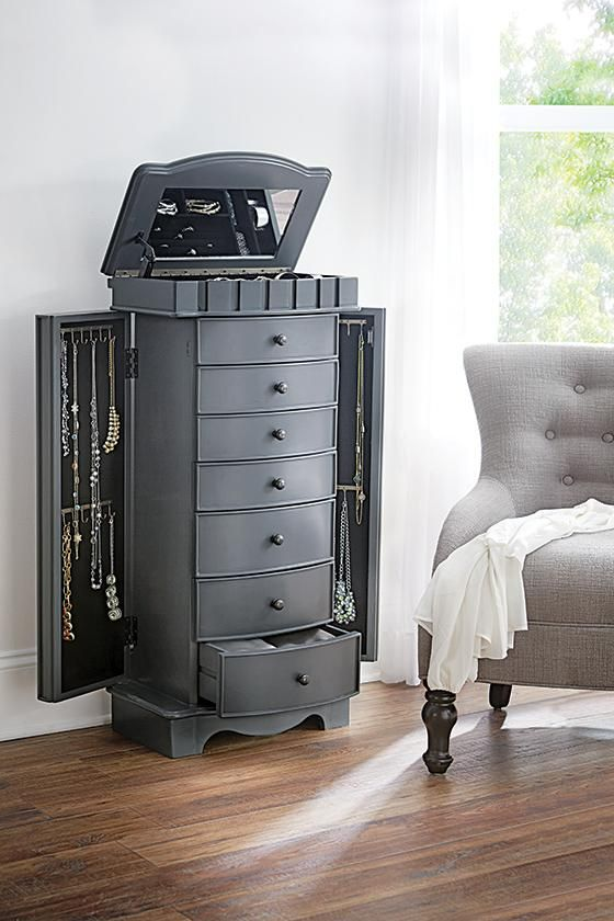 Home Decorators Collection Bronwyn 7Drawer Jewelry Armoire in