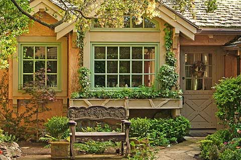 Nestled among groves of rare Monterey pines and cypress, you will find California's unique cottage community, Carmel-by-the-Sea, with its delightful small homes, inspired by the 1920′s storybook-look Hansel cottage.