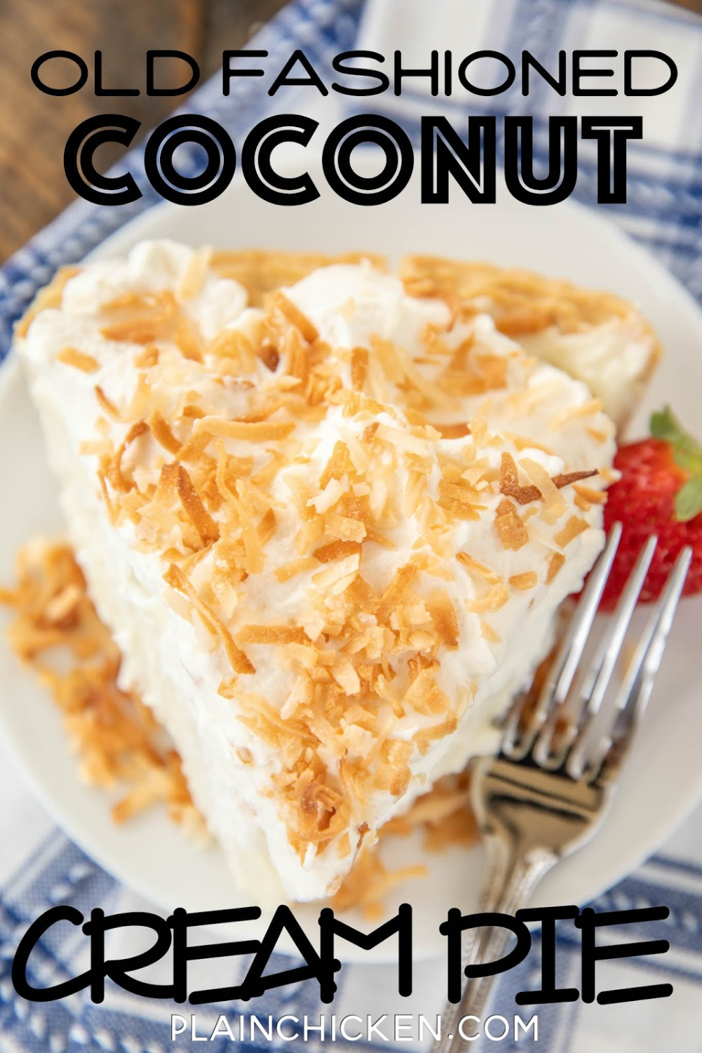 Old Fashioned Coconut Cream Pie Perfect Ending To Any Meal T Is Hands Down The Best Cocon Coconut Cream Pie Recipes Coconut Cream Pie Best Coconut Cream Pie