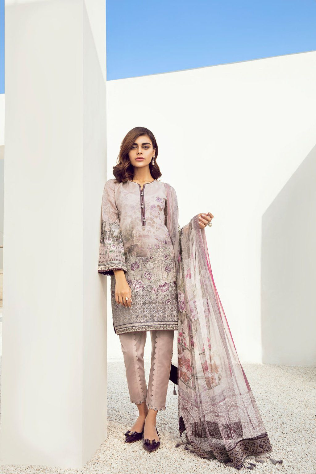 3ac4881e96 Bright, bold and effortless chic, Baroque Fuchsia Lawn Collection 2018 is  here to beat the heat of summer. Baroque Fashion is a well-known clothing  brand of ...