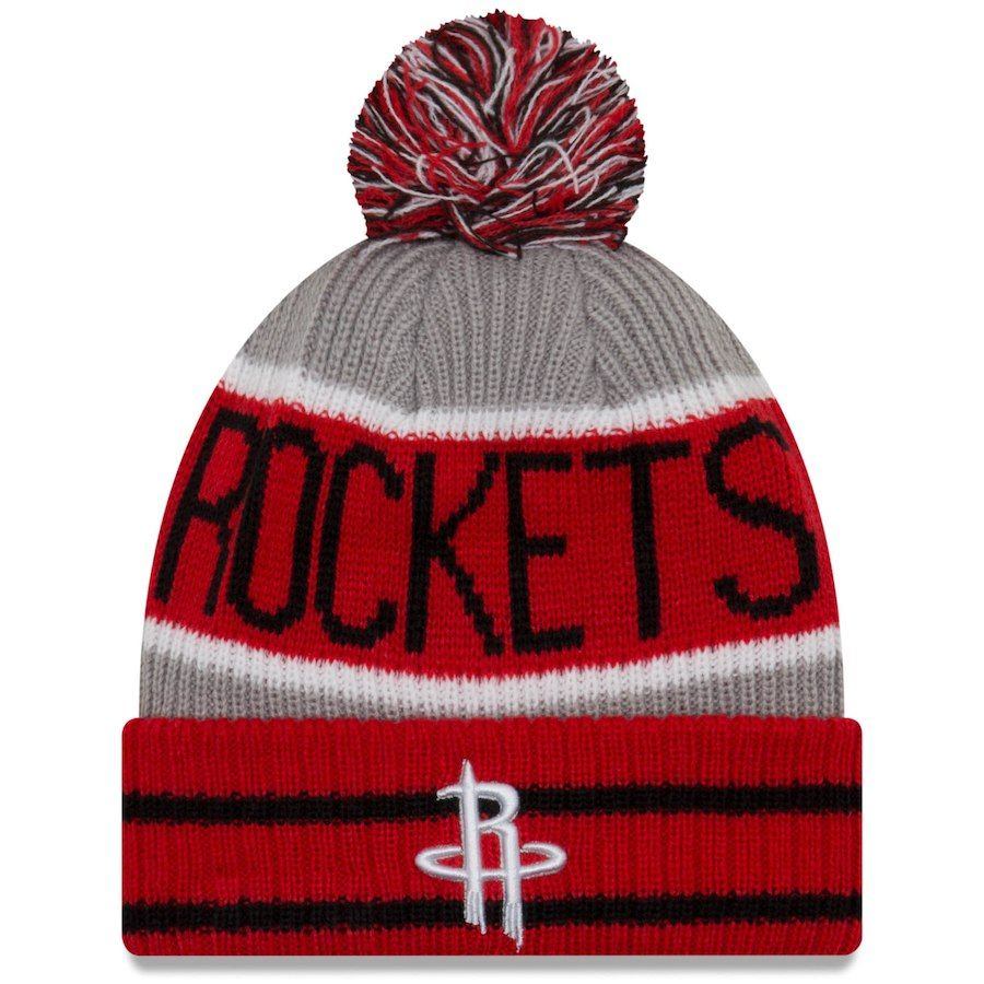 buy online save off official photos netherlands houston rockets new era nba pin pom knit 37bb2 dfb84