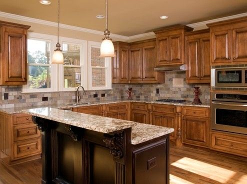 Superb Image Of: Cool Best Small Kitchen Designs 2014