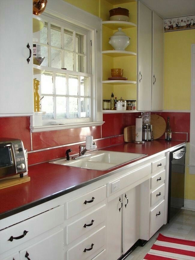 Kitchens   Retro | Pinterest | Kitchen, Vintage Kitchen And Red Kitchen