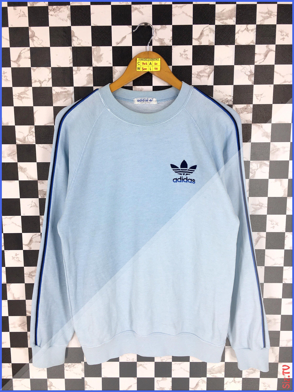 Vintage 90 S Adidas Jumper Pullover Medium Unisex Adidas Trefoil Three Stripes Crewneck Sweatshirt Adidas Casual Light Adidas Jumper Adidas Sweater Sweatshirts [ 3000 x 2250 Pixel ]