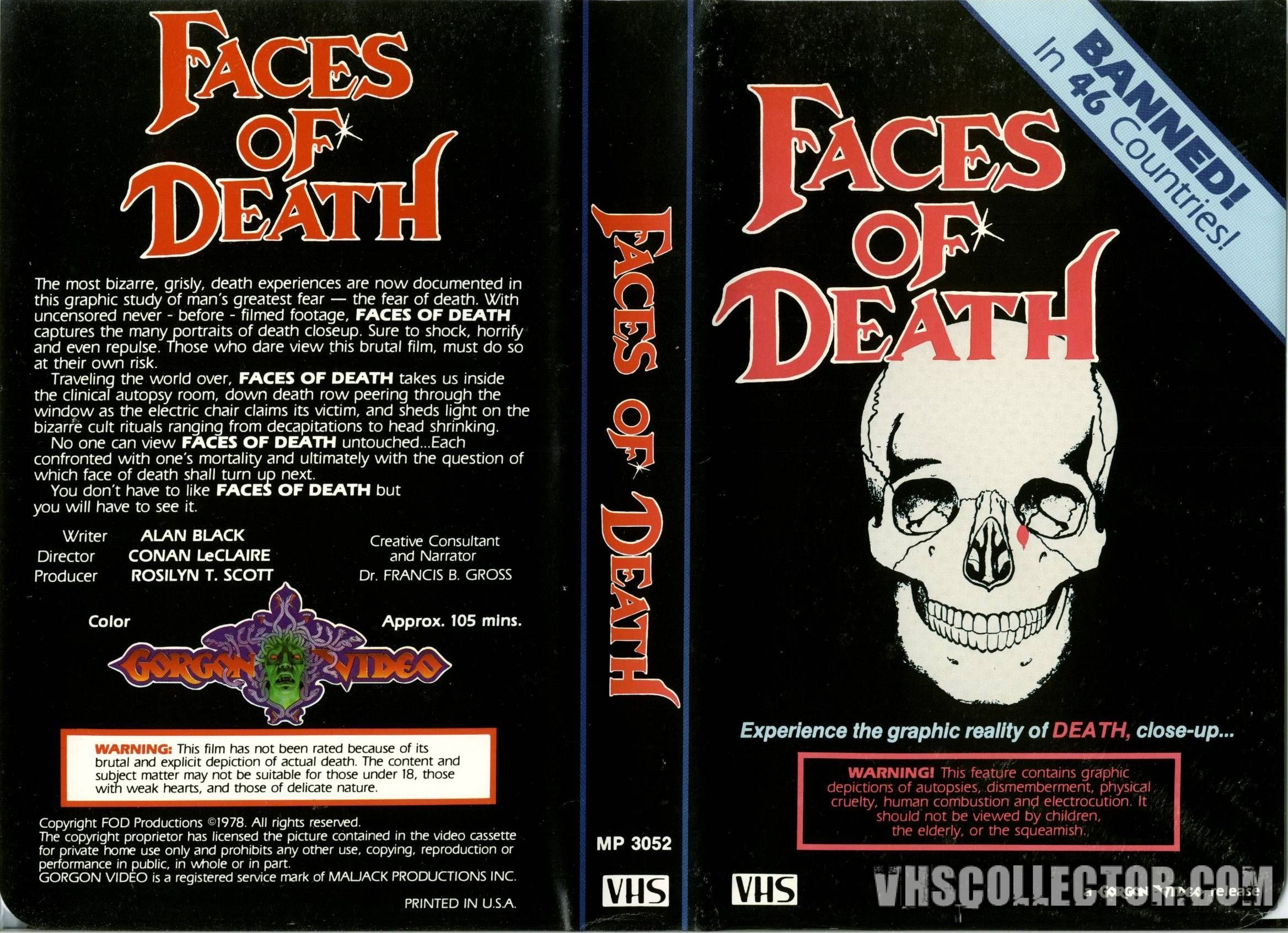Pictures of death faces