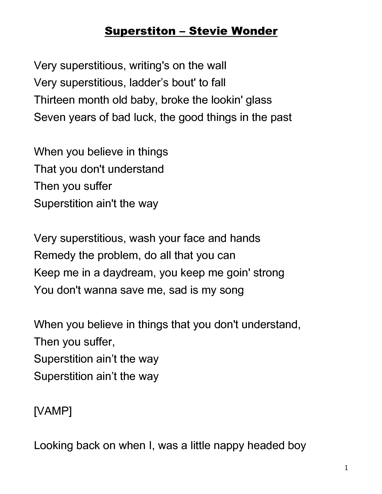 Park Art My WordPress Blog_Wonder Of Wonder Art Lyrics