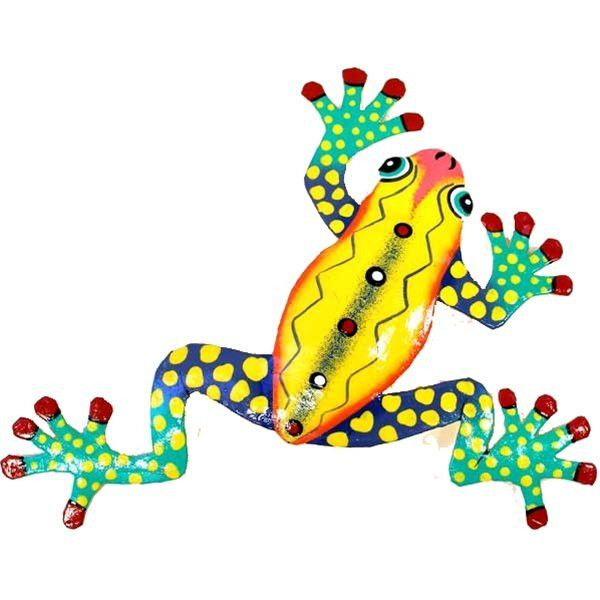 Fine Metal Frog Wall Art Embellishment - Wall Art Collections ...