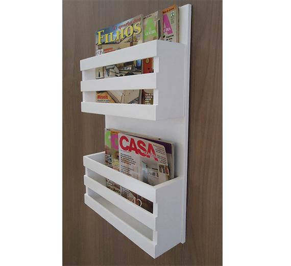 magazine wall hack book magazine holder lacquered on wall hacks id=94166