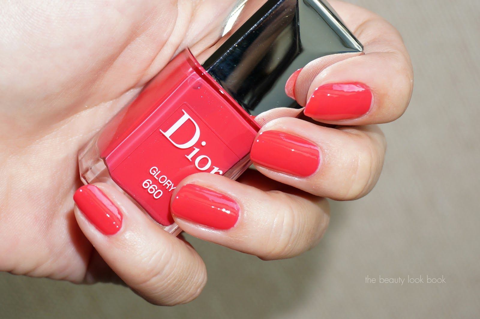 Dior Glory #660 is a vibrant pink red with a tinge of coral   Make ...