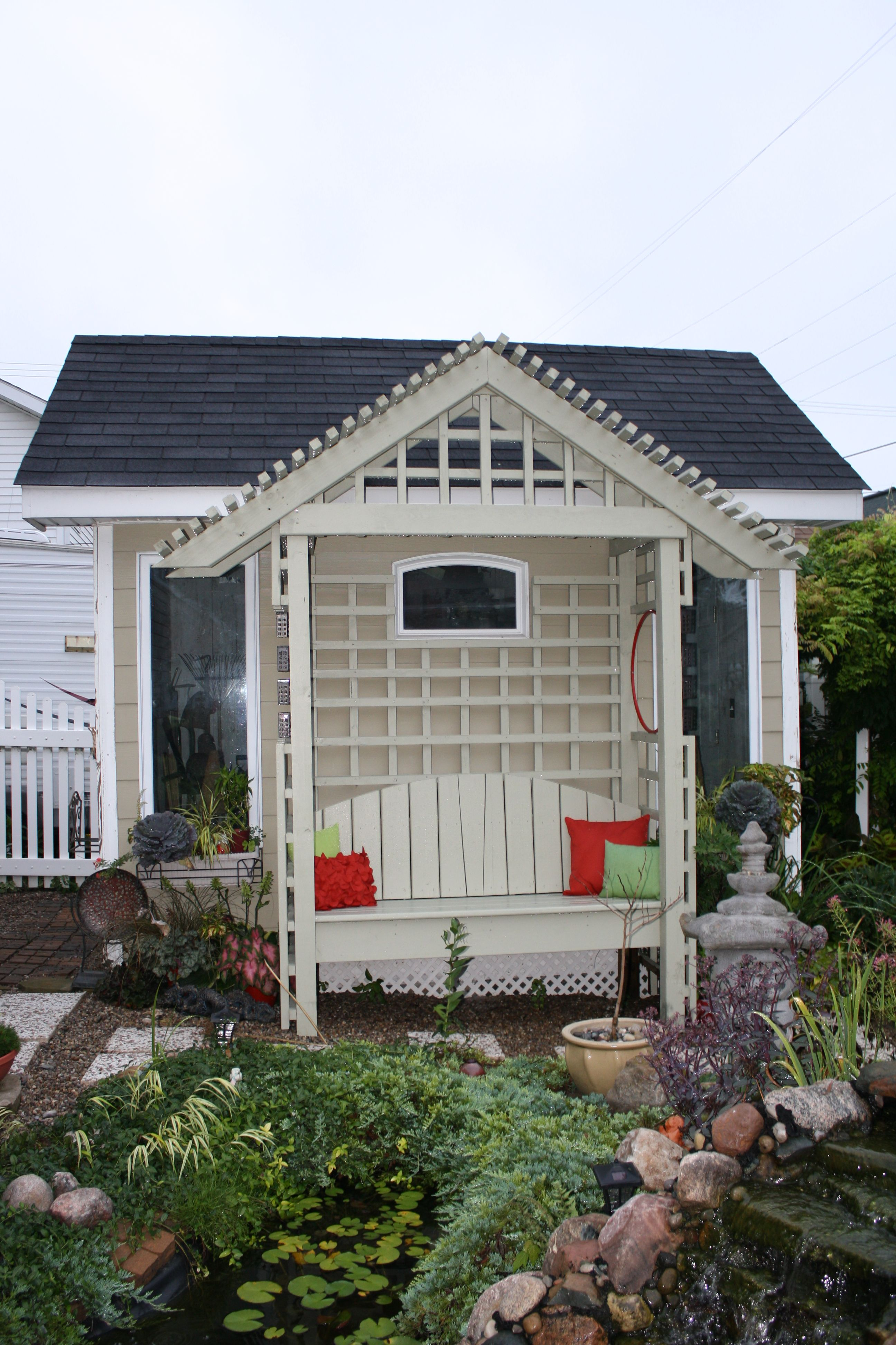 Adoreable Potting Shed... a Linda welch creation