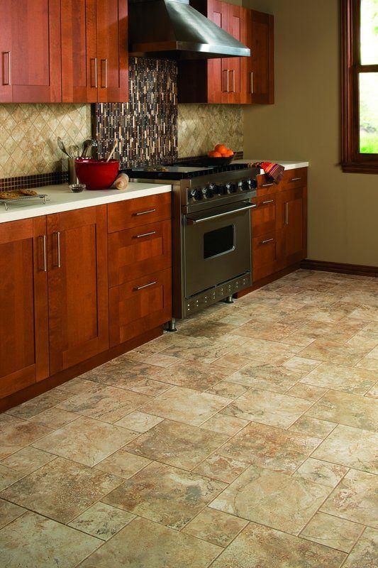 Advantages And Disadvantages Of Ceramic Tile Flooring Ceramic Tile Floor Kitchen Travertine Kitchen Floors Kitchen Floor Tile