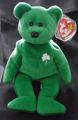 f06b1f2d26c Rare Collectible 1997 Irish Erin St. Patrick s Day TY Beanie Baby - Great  cond.