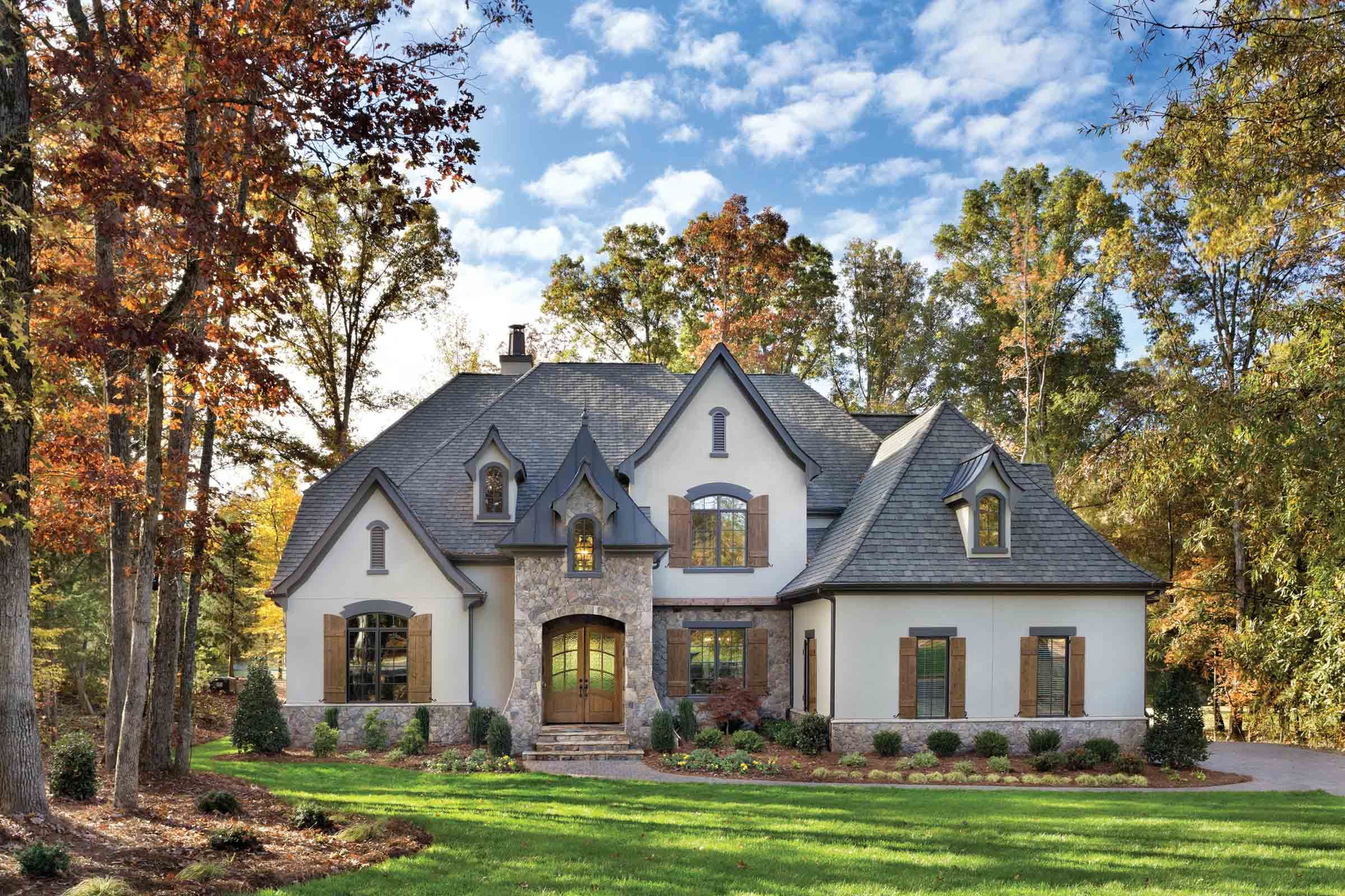Custom Luxury Home Builder Arthur Rutenberg Homes French Country House House Exterior House And Home Magazine